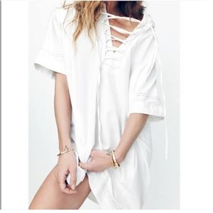 Madewell x Daryl K Beverly Lace Up Dress